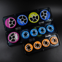 Premium Round Silicone Main Line Leader Rig Storage Tackle Box S L Line Holders Fishing Tackle