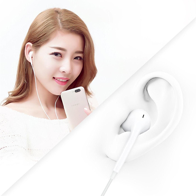 Image 3 - 3.5mm Earphone Wired Headphones Music Earbuds Stereo Gaming Earphones With Micphone For iPhone Xiaomi Huawei Sport Headset-in Phone Earphones & Headphones from Consumer Electronics
