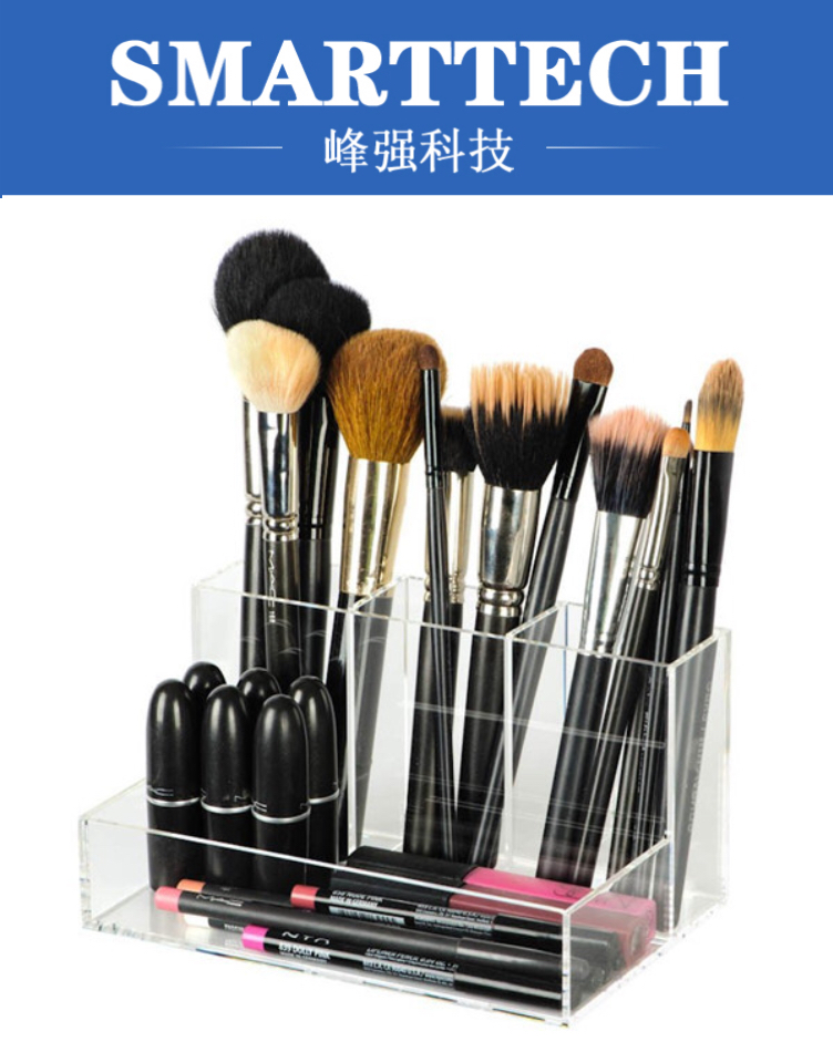 Plastic makeup display organizer desktop cosmetics storage box mold jewelry box display boxes mold