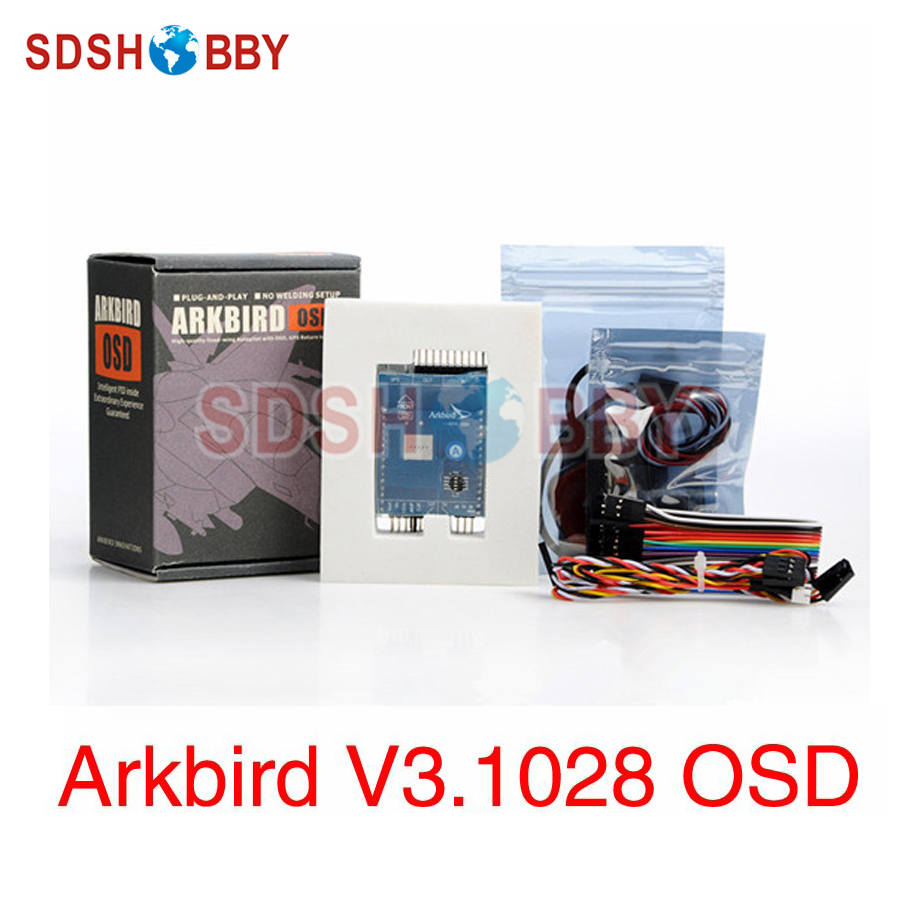 Arkbird Autopilot V3.1028 RTH OSD Flight Controller Standard Including GPS 3S Current Sensor for Fixed-wing nike laser 4 бутсы