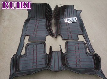 Custom special car floor mats for Right Hand Drive Volvo XC90 5 seats 2018-2015 waterproof carpets for XC90 2017,Free shipping