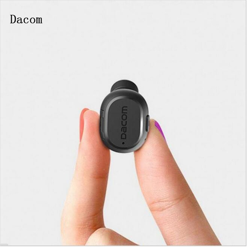 Mini Dacom K28 Wireless Earphone Bluetooth 4.1 with Mic Earphones Invisible Light Handsfree for iPhone Android phone Driver