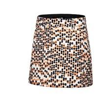 PGM 2018 New Summer Ladies Sports Skirt Table Tennis Polyester Breathable Badminton Running Shorts Skirt Women