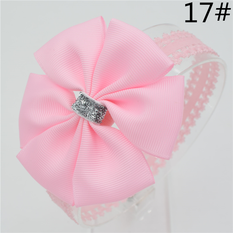 Baby girl hair bowknot ribbon Headband ns