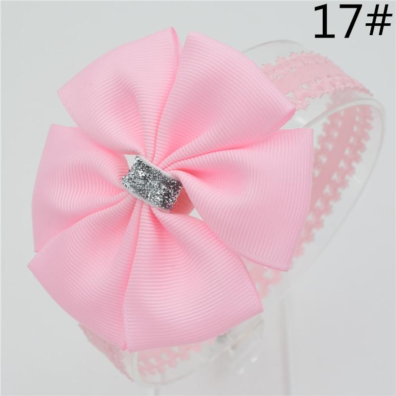 Baby Girl Hair Bowknot Ribbon Headband  Newborn Toddler Bow Flower Hair Band Handmade Hair Accessories For Children
