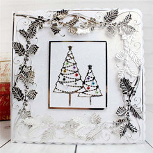 Buy Pearl Christmas Trees Metal Cutting Dies for Scrapbooking New 2019 Craft Dies Embossing Dies Cuts Cards Making Stencils DIY directly from merchant!