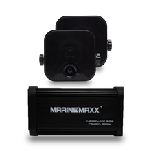 ימי Bluetooth אודיו אופנוע מגבר USB/MP3 נגן 500W 4 ערוץ עמיד למים ימיים חיצוני רמקולים לרכב אוטומטי סירה