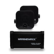 Deniz Bluetooth ses motosiklet amplifikatör USB/MP3 çalar 500W 4 kanal su geçirmez deniz açık hoparlörler oto araba için tekne