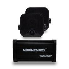 Marine Bluetooth Audio motocykl wzmacniacz USB/MP3 odtwarzacz 500W 4 kanał wodoodporne Marine zewnętrzne głośniki dla Auto samochód łódź