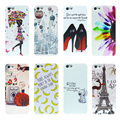 For iPhone 5s Case Luxury Painted Design White Cases Cover For Apple  i phone 5  5S SE Phone Back Hard pc Coque Fundas