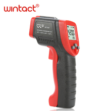 Ir Infrarood Digitale Temperatuur Meter Mini Thermometer Non contact 12:1 Lcd scherm 50 ~ 420C Emissiviteit 0.95 12:1