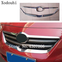 car styling racing Bezel trim Front Grid Grill Grille license plate frame For Toyota Corolla Altis 2008 2009 2010 2011 2012 2013