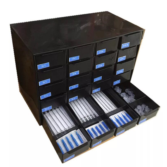 20 Pcs Drawers Professional Tattoo Needles Case for Dedicated Storage Box Cabinet Cleaning Tools Tattoo Supplies  sc 1 st  AliExpress.com & 20 Pcs Drawers Professional Tattoo Needles Case for Dedicated ...