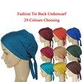 Nuevo Musulmán Bufandas de Moda Real 2016 Mujer Jersey Instantánea Atar de Nuevo Sombrero Underscarf Headband Hijab Islámico Capsula El Envío Gratuito