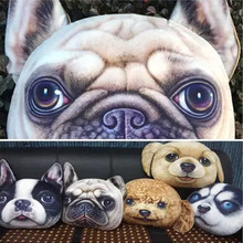 50cm big One piece 3D printed dog/cat pillow,cushion vivid cat soft toys for children girls girlfriend home decoration gift cool