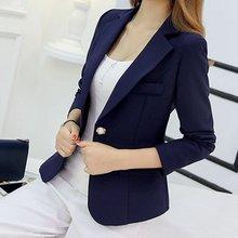 *Blazer Women New Arrivals 2019 Ladies Blazers Sleeve Long B