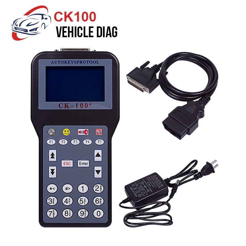 CK100 Car Key Programmer V99.99/V46.02 OBD2 Immobilizer Programmer Tool Automotive Diagnostic Tools