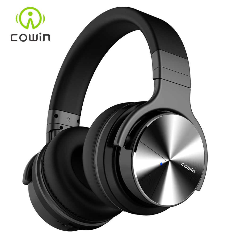 0da78c5069e Cowin E7 Pro Bluetooth Headphones with Microphone ANC Active Noise  Cancelling Wireless Headset For Xiaomi iPhone Computer Game