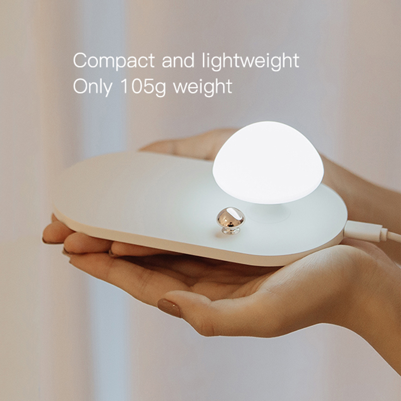Wireless Charger 10W - QC 3.0 Fast Charging Protocol with touch-sensitive nightlight 4