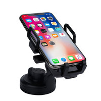 Quick Wireless Charging Car Phone Holder For iPhone XS Max Samsung S8 Car Mount Mobile Phone Holder Stand For Smartphone Voiture
