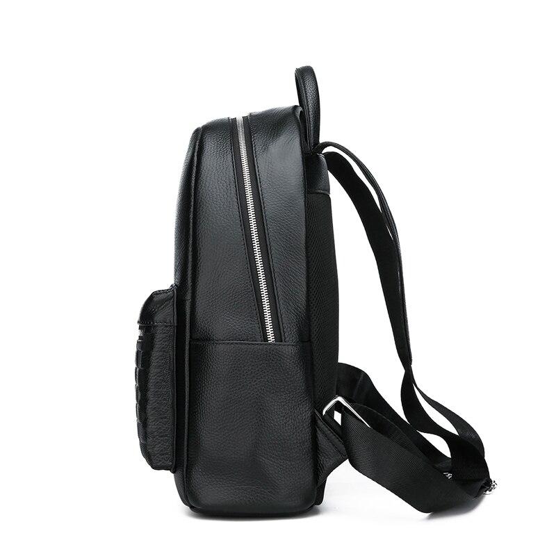 Bagaj ve Çantalar'ten Sırt Çantaları'de FEIDIKABOLO hakiki deri sırt çantası erkekler Laptop sırt çantası okul gençlik deri gençler için sırt çantaları erkekler rahat Daypacks mochila'da  Grup 3