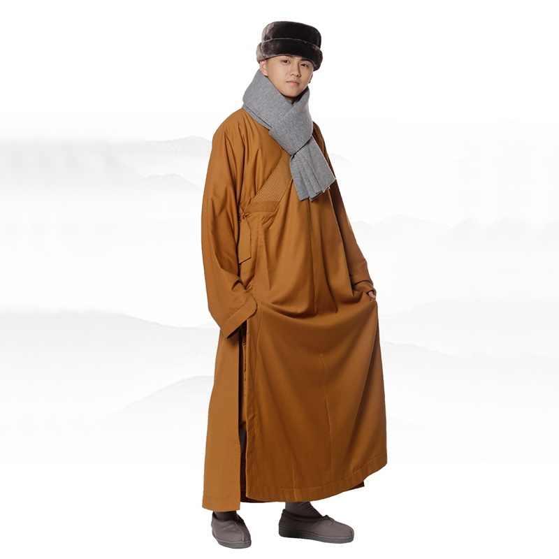 Буддийский монах халаты одежда жилет Костюм Монах Шаолиня Медитация одежда мала монах Шаолиня халаты одежда TA522