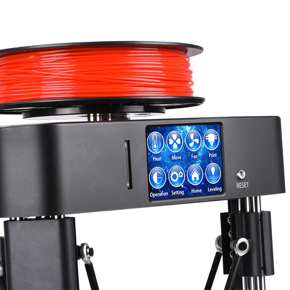 BIQU MAGICIEN assemblée complet MINI 3D Imprimante impressora 3d Auto nivellement destop haute qualité à prix abordable kossel machine - 3