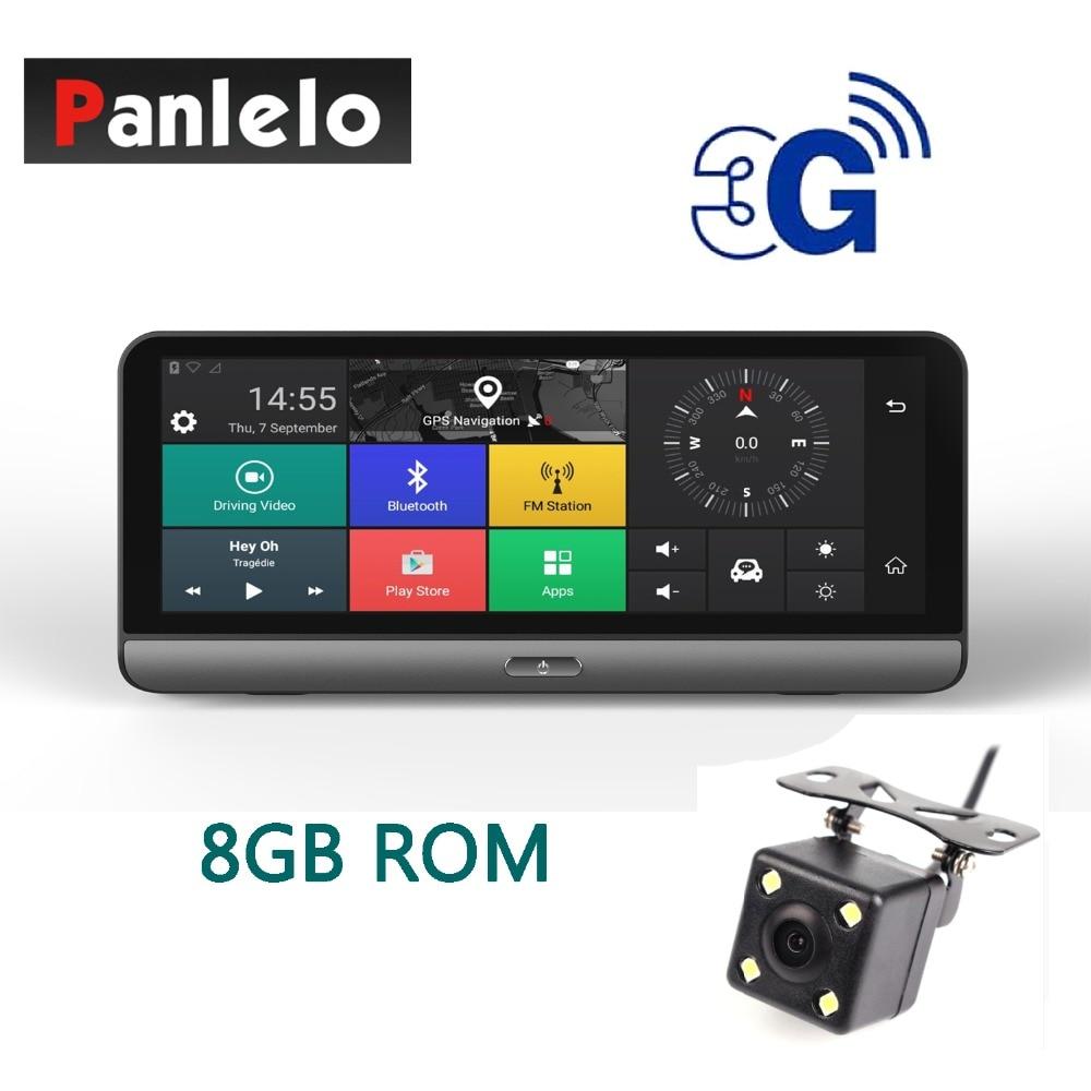 Panlelo 781 Car GPS On Dash Camera DVR 7.84