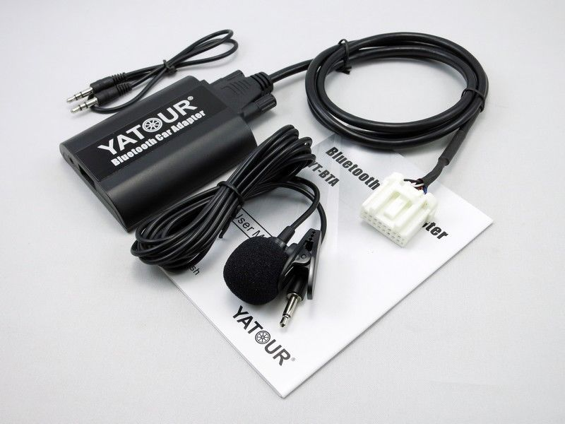 Yatour Bluetooth Car Kit For Mazda 3 5 6 Cx-7 Mpv RX8 YT-BTA Hand Free AUX IN USB Charging Port Adapter
