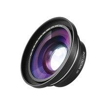 30 мм 37 мм 0.39X Full HD Широкий формат макрообъектив для Ordro Andoer цифровой видео Камера видеокамера Широкий формат макро-объектив