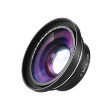 Lente Macro gran angular de 30mm, 37mm, 0.39X, Full HD, para Ordro Andoer, cámara de vídeo Digital, videocámara, lente Macro gran angular