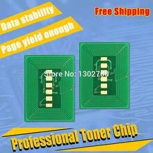 Replace 44844616 44844615 44844614 44844613 Toner Cartridge reset chip For OKI C822 data C 822 color laser printer toner Refill