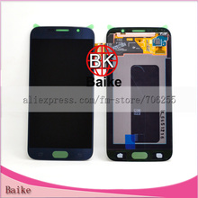 Para samsung galaxy s6 g9200 g920f pantalla lcd display + touch screen digitalizador assmebly blanco/azul/oro