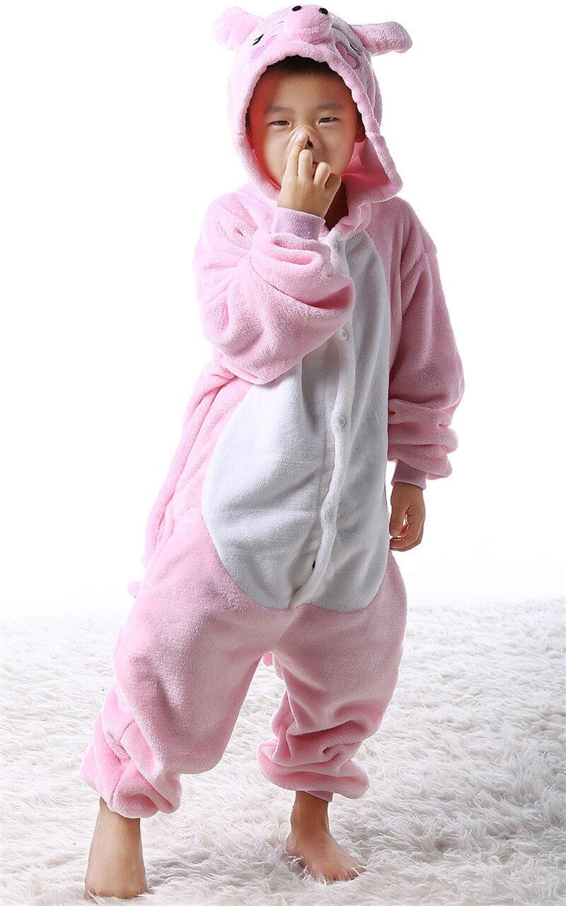 Animal Cartoon Pajama Onesie Baby Pajamas Funny Animal Kids Girls Boys Pink Pig Children Sleepwear Onesies Nightwear Cosplay
