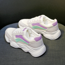 Купить с кэшбэком Woman casual shoes Breathable sneakers female spring new student style casual shoes zapatos Fashion mesh sneakers shoes women
