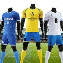 Niño niños fútbol personalizada camisas chicos jóvenes JUEGOS DE FÚTBOL  Camisetas Survement los uniformes del equipo Kit deporti. 90ad027ecde9b