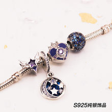 Sailor Moon 20th Anniversary Ami Regresa Pendant Charm Bead Bracelet Silver New(China)