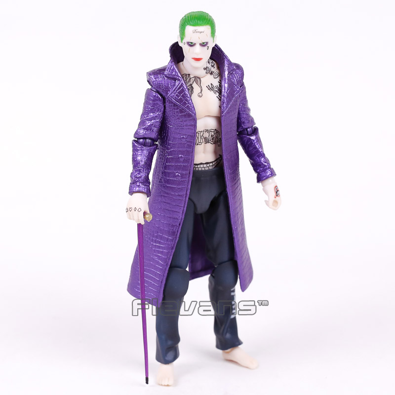 все цены на Crazy Toys Suicide Squad The Joker 1/12 th Scale PVC Action Figure Collectible Model Toy 17cm