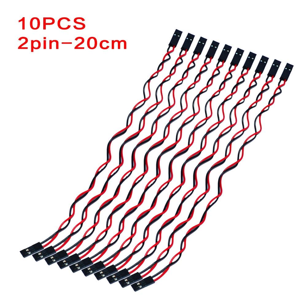 (10pcs/lot)Keyestudio F-F  20CM 2.54  2Pin /3Pin /4pin/8Pin  Breadboard Line/Dupont Cable For Arduino Breadboard DIY Project