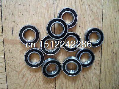 10pcs 6 x 13 x 5 mm 686-2RS Sealed Model Thin-Section Ball Radial Bearing 6*13*5 image