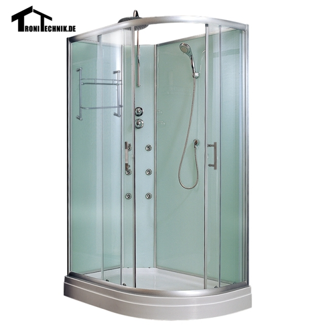 1200mm Non Steam Shower Cubicle Enclosure Corner Shower Room Cabin Glass  Bath Room LEFT Cubicle Shower