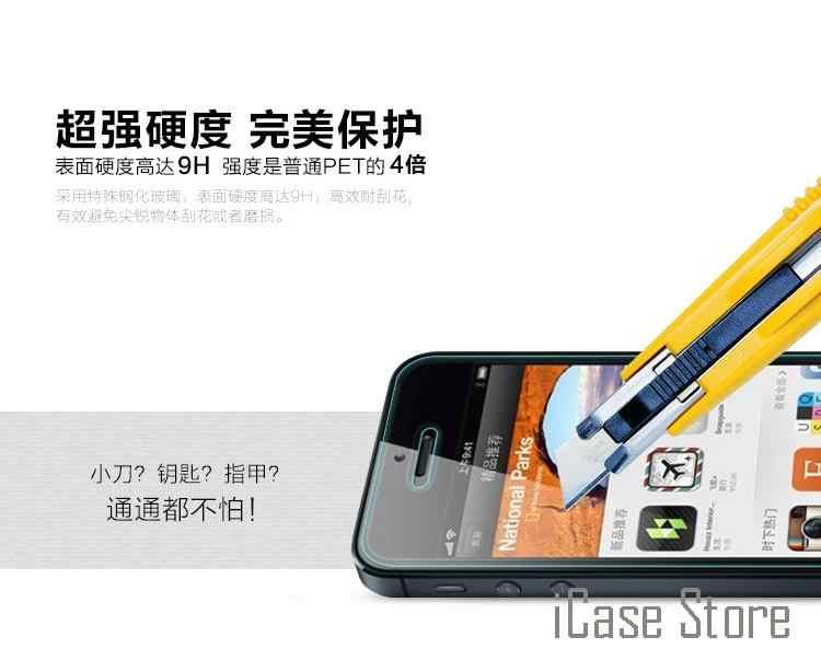 Caldo! 0.3 millimetri 9H Aifon a prova di Esplosione Premium Vetro Temperato per Il IPhone 4 4S 5 5S 6 6S Plus 6Plus 6SPlus Pellicola Della Protezione Dello Schermo