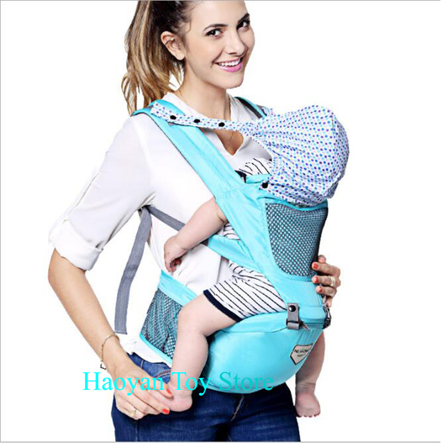2-36 Months Toddler Adjustable Safety Strap Baby Breathable Cap Carrier Multifunctional Hip Seat Infant Comfortable Wrap Seat