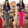 Бесплатная доставка беременные женщины брюки весной и осенью, и тонкий срез хлопка леггинсы штаны живота брюки