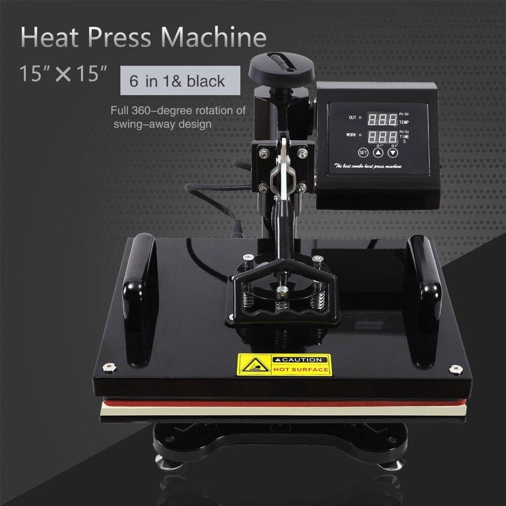 6IN1 presse à chaud 30X38 CM MACHINE tapis de souris transfert numérique plaques en céramique