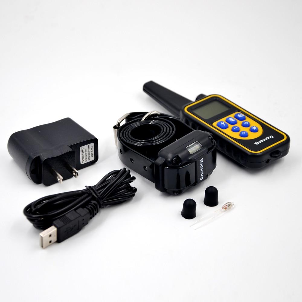kjæledyr hund trening krage elektrisk støt krage for hunder IP7 - Pet produkter - Bilde 6