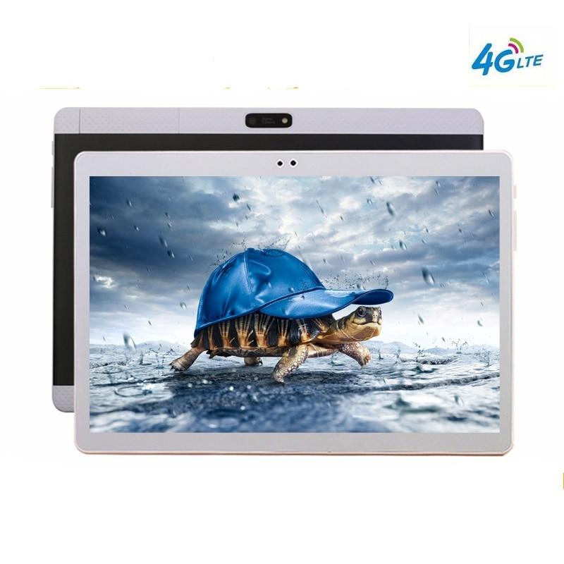 Del computer portatile 10 Core 4g LTE Tablet 4 gb di RAM 128 gb di ROM 2560X1600 Dual Camera 8MP Android 7.0 Tablet 10.1 pollice K99 notebook computer
