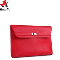 f6d619ee9521 Atrra-Yo Clutch Female Bag Brands Luxury Women Leather Handbag Designer  Girls s Envelope Bag Ladies