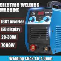220V 20 300A 7000W Mini DC IGBT inverter MMA/ARC Welder Tools Handheld Display Pure Copper Lightweight Welding Machine