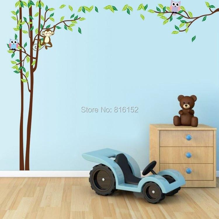 Kids Bedroom Vinyl vinyl wall trees promotion-shop for promotional vinyl wall trees